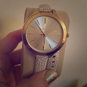 Michael Kors wrap watch. Great condition.